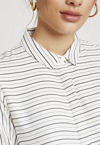 Envii - ENHARRY DRESS - Vestido camisero - white/black - 7