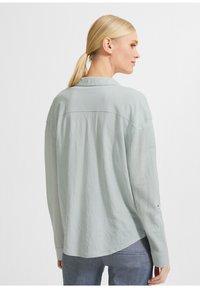 comma - Button-down blouse - light green - 2