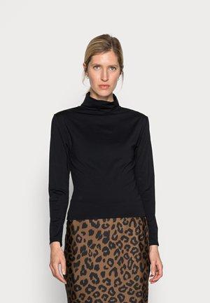 MATU ROLLNECK - Long sleeved top - black