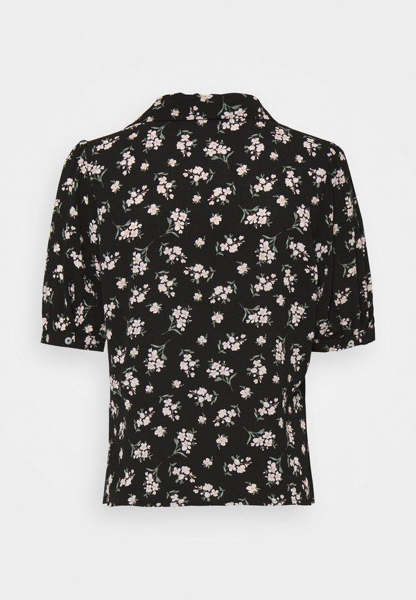 Vero Moda Petite VMSAGA - Koszula - black/czarny PIZI