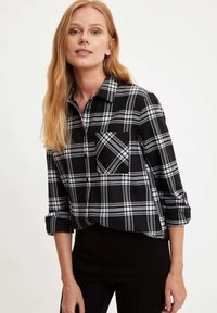 DeFacto - Button-down blouse - black - 2