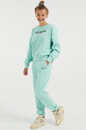 MET OPDRUK - Teplákové kalhoty - green