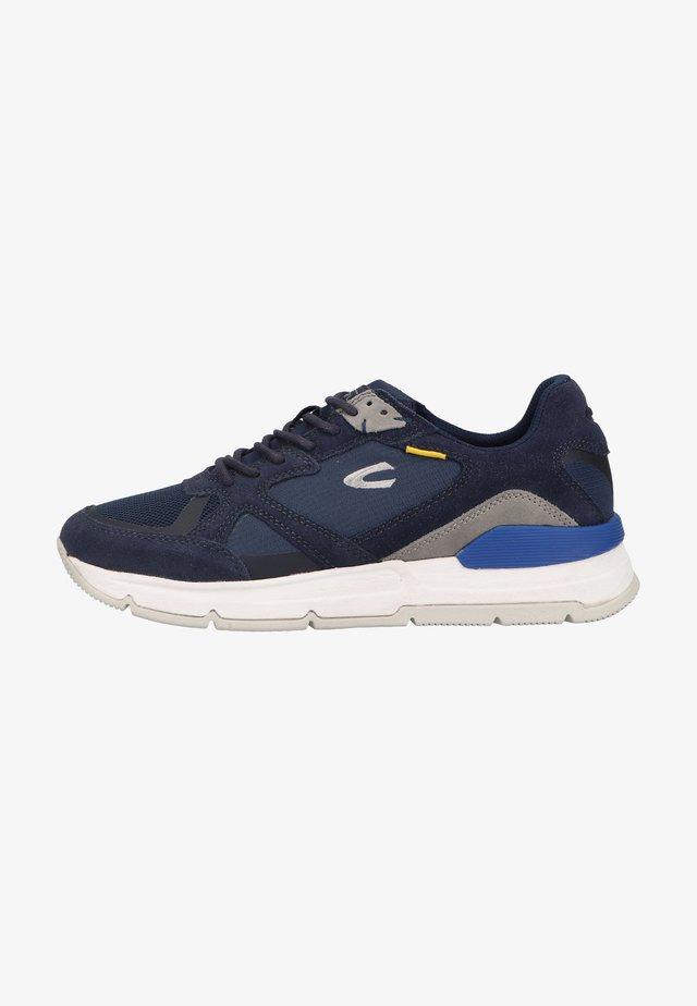 Sneakers laag - navy blue c67