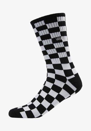 UA CHECKERBOARD CREW II (6.5-9, 1PK) - Socks - black/white