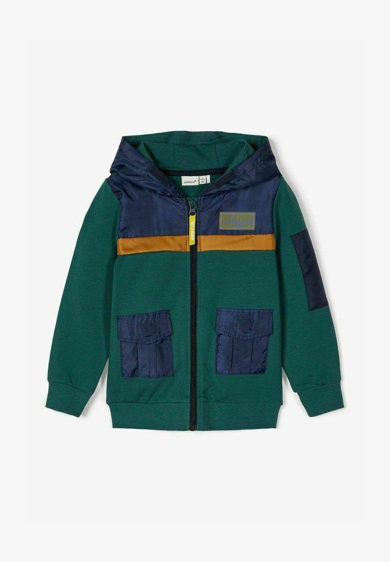 Name it - Zip-up hoodie - bistro green