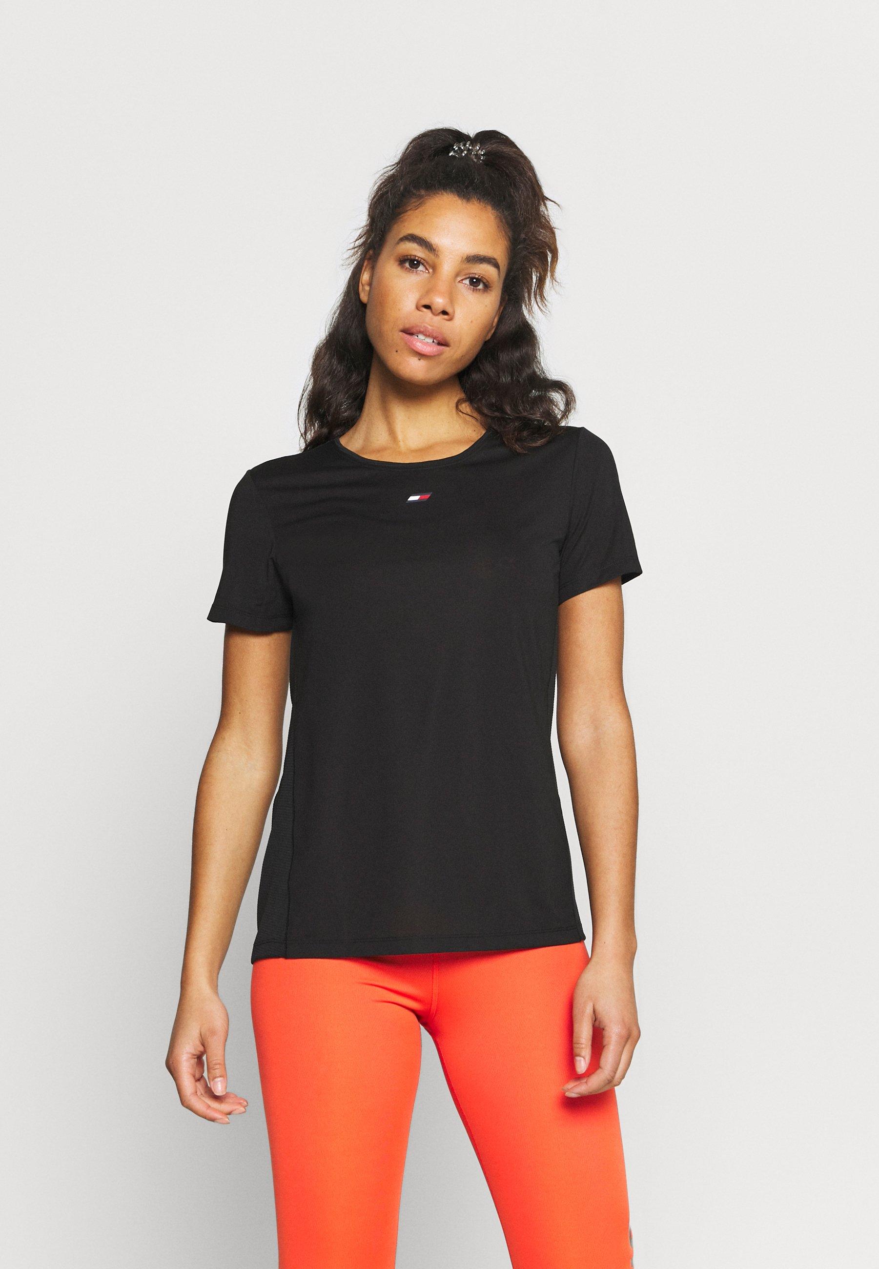 Women REGULAR FABRIC MIX TEE - Sports shirt