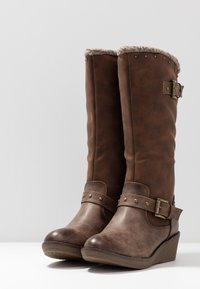 Refresh - Wedge boots - taupe - 4