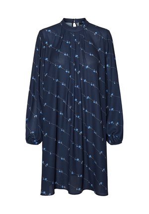 Day dress - navy blazer