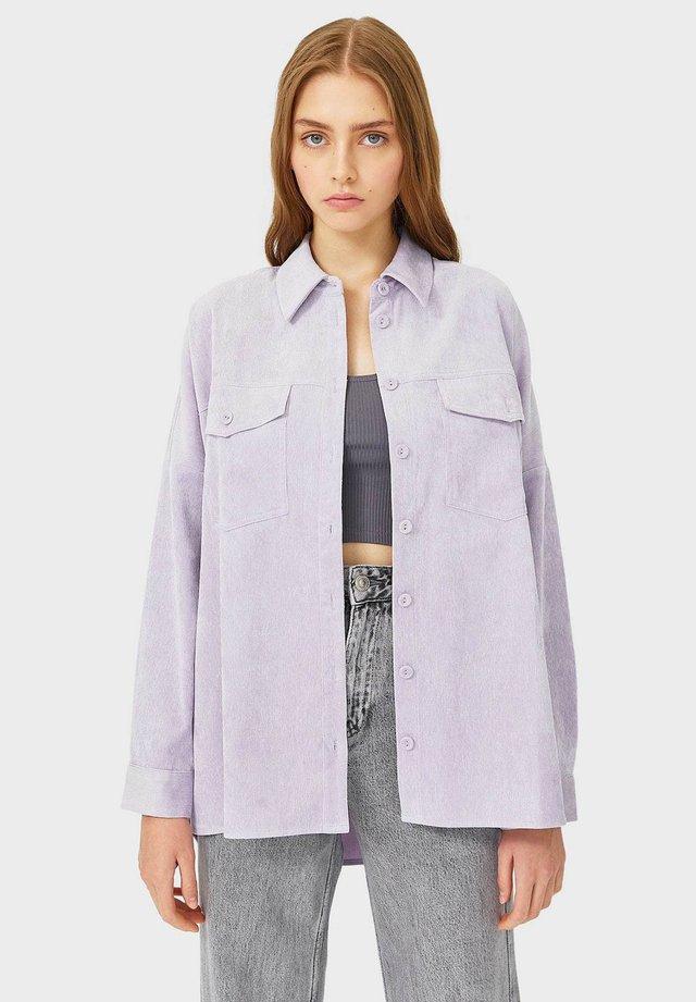 Lehká bunda - purple