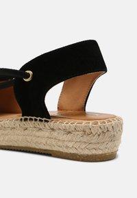 Kanna - ADA - Platform sandals - schwarz - 5