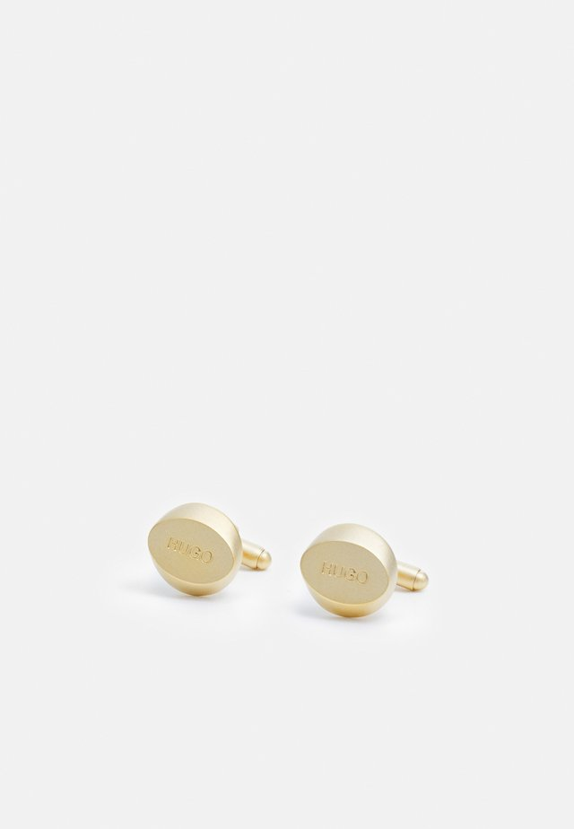 CLASSIC - Boutons de manchette - gold-coloured