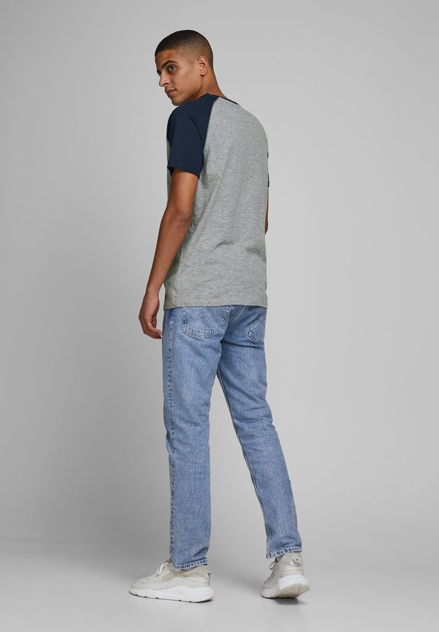 Jack & Jones Print T-shirt - light grey melange r6O90