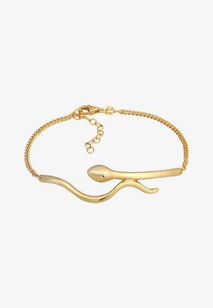 SCHLANGE SNAKE PANZERKETTE BOHO - Bracelet - gold