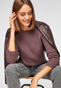 QS by s.Oliver - Jumper - purple - 5