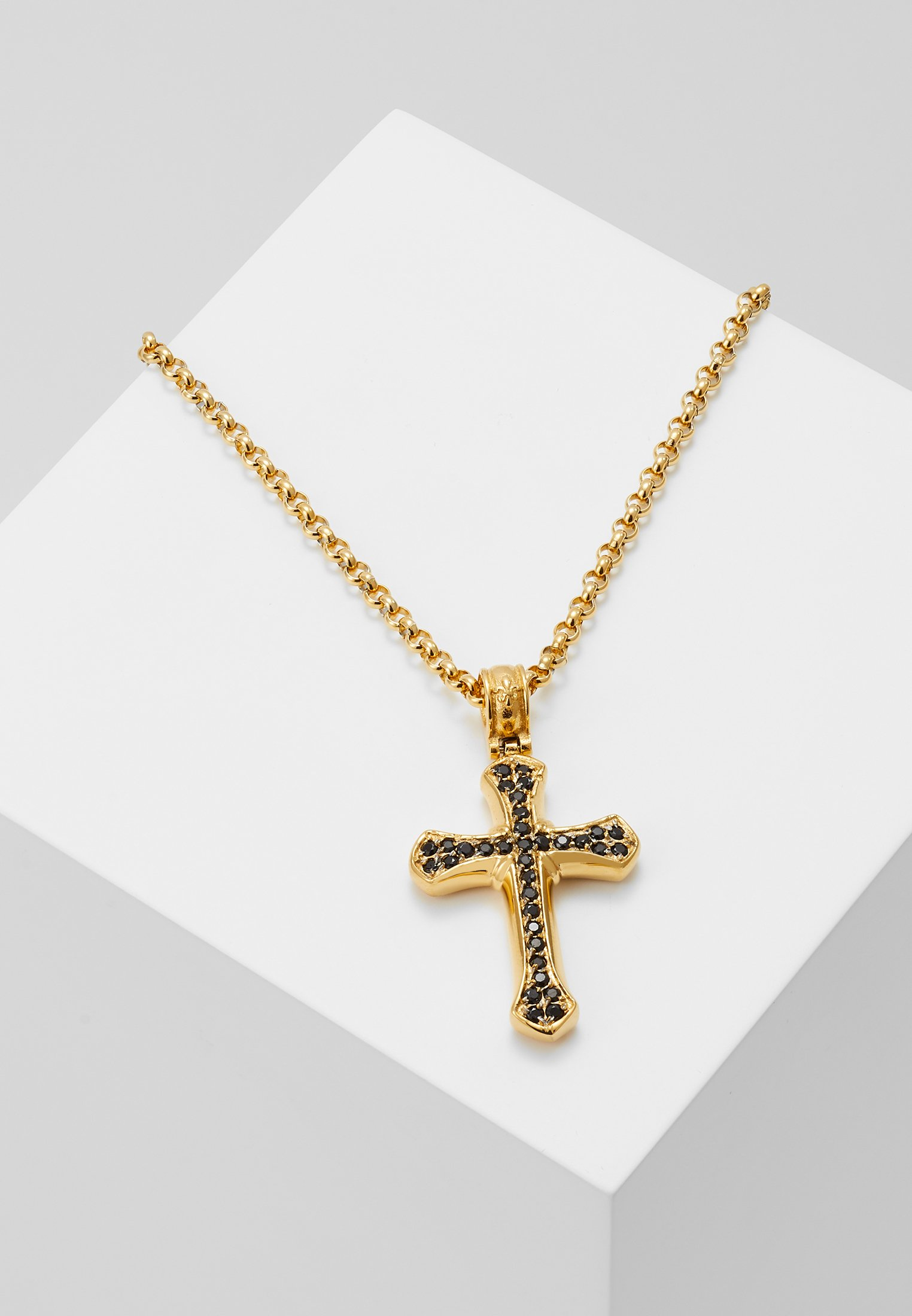 Homme CHAIN WITH CROSS PENDANT - Collier