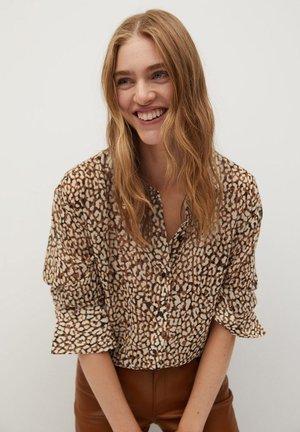 ARIZONA - Button-down blouse - hnědá