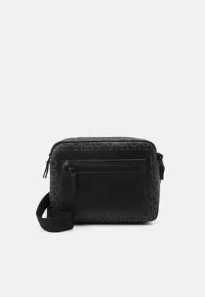CAMERA BAG MONO UNISEX - Across body bag - black