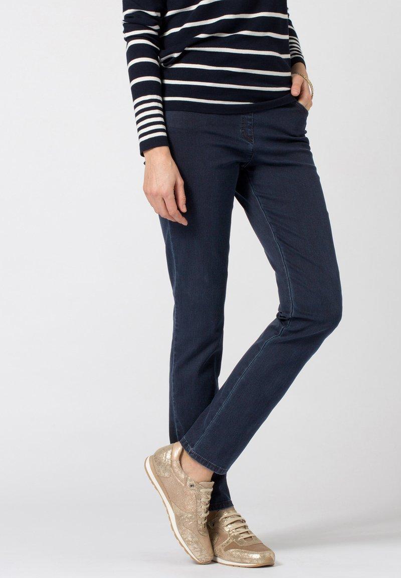 BRAX - STYLE PAMINA - Slim fit jeans - dark blue