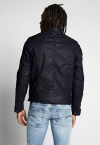 G-Star - BIKER DENIM  - Veste en jean - pintt mazarine superstretch - 2