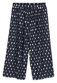 Next - NAVY SPOT CULOTTES (3-16YRS) - Trousers - blue - 0