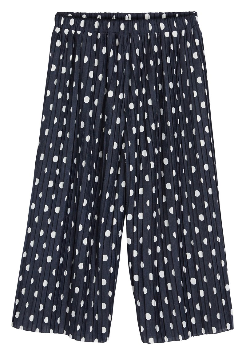 Next - NAVY SPOT CULOTTES (3-16YRS) - Trousers - blue