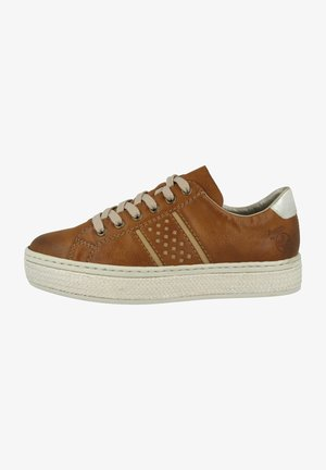 Sneakers laag - cayenne-nude-fog silver