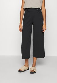 JDY - JDYGEGGO NEW ANCLE PANTS - Kalhoty - black - 0