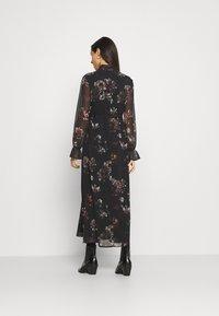 NU-IN - SLEEVE MAXI DRESS - Robe longue - black - 2