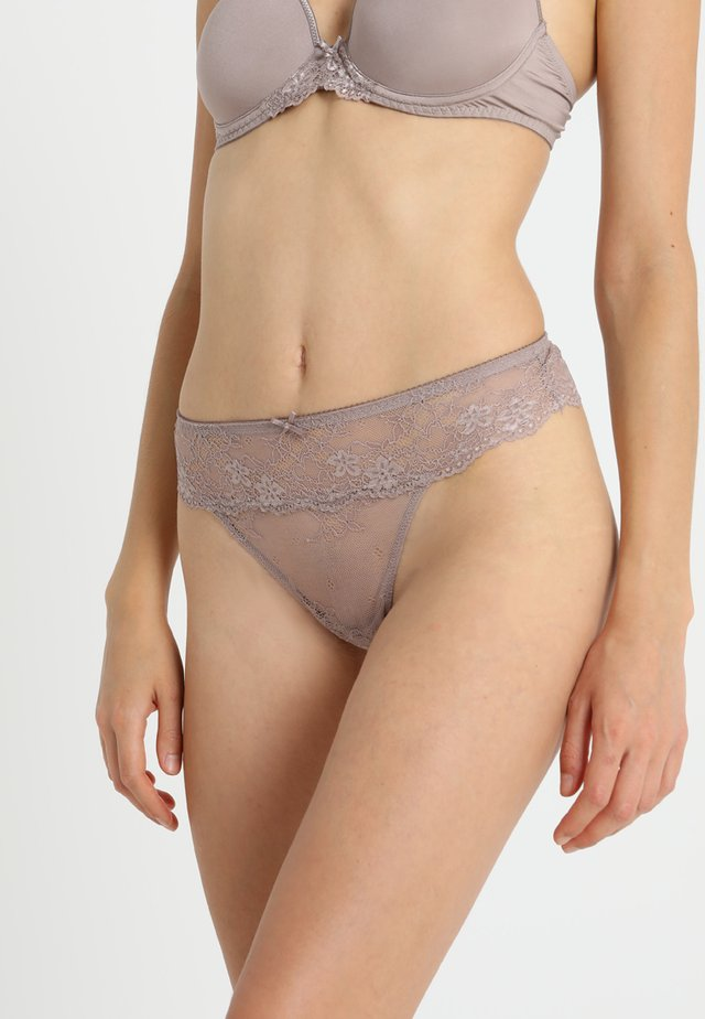 DAILY - Thong - taupe