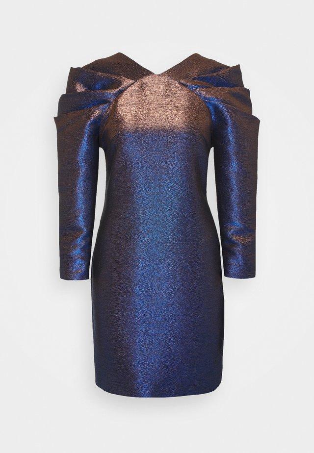 IRIDISCENT DRESS - Sukienka koktajlowa - dark blue
