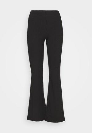 KICKFLARE TROUSER - Trousers - black