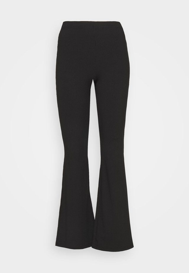 KICKFLARE TROUSER - Trousers - black