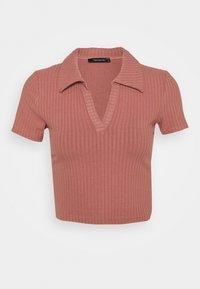 Trendyol - Basic T-shirt - rose - 3
