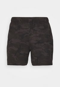 Abercrombie & Fitch - CAMO - Surfshorts - black - 0
