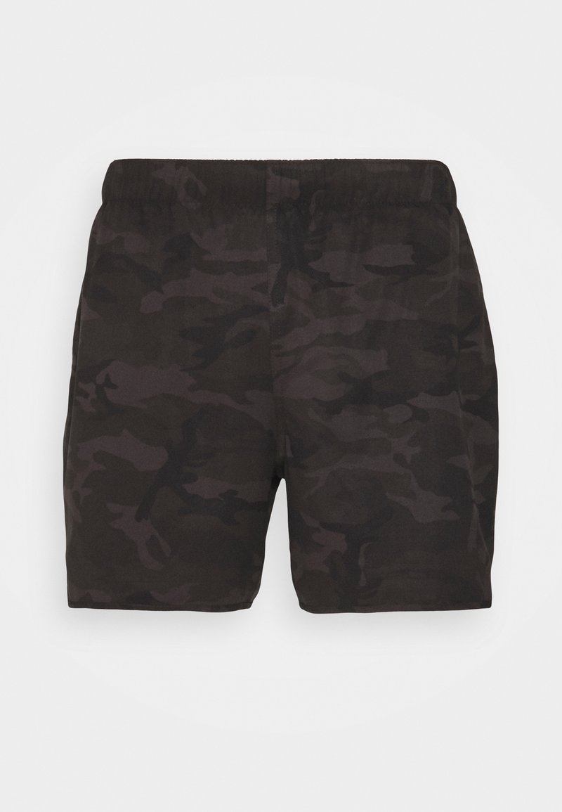 Abercrombie & Fitch - CAMO - Surfshorts - black