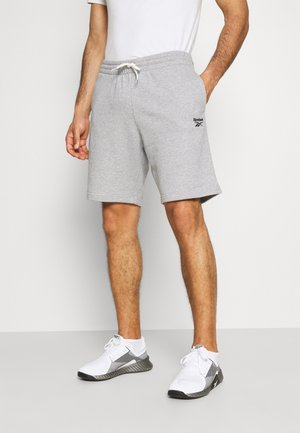 SHORT - Träningsshorts - medium grey heather