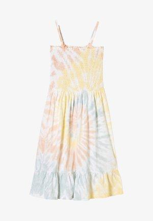 Day dress - cream tie dye aop