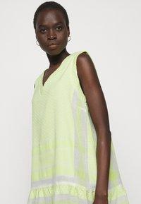 CECILIE copenhagen - DRESS - Vapaa-ajan mekko - avocado green - 3