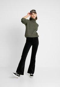 Even&Odd - Sweter - khaki - 1