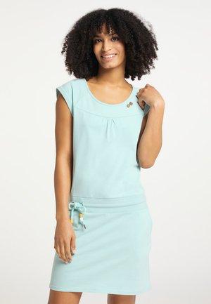 PENELOPE - Shift dress - arctic blue
