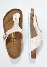 Birkenstock - GIZEH - T-bar sandals - cream - 3