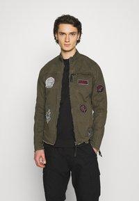 Be Edgy - GINO - Denim jacket - khaki - 0