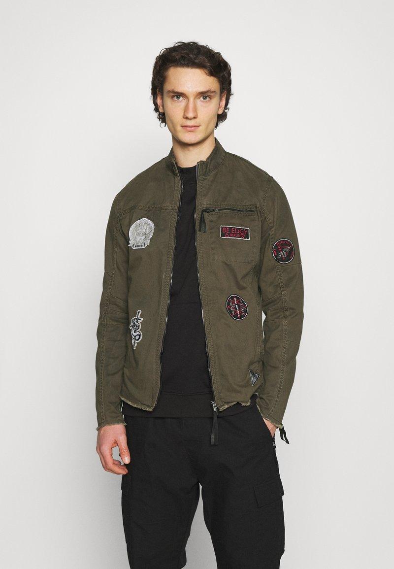 Be Edgy - GINO - Denim jacket - khaki