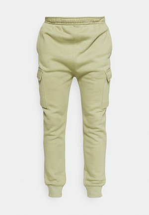 PANT  - Tracksuit bottoms - medium khaki