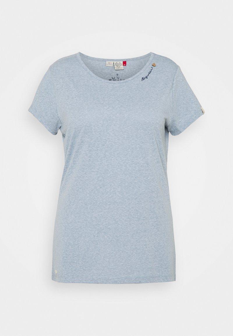 Ragwear Plus - Print T-shirt - dusty blue