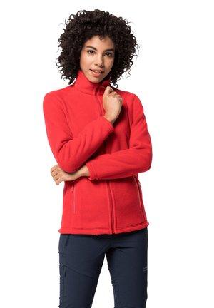 MIDNIGHT MOON - Fleece jacket - clear red