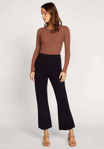 MALONE - Trousers - black