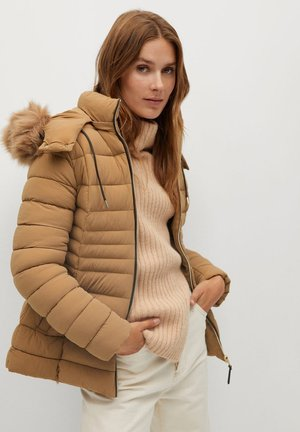 PONI - Winter jacket - mittelbraun