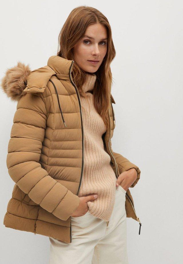 PONI - Winter jacket - mittelbraun