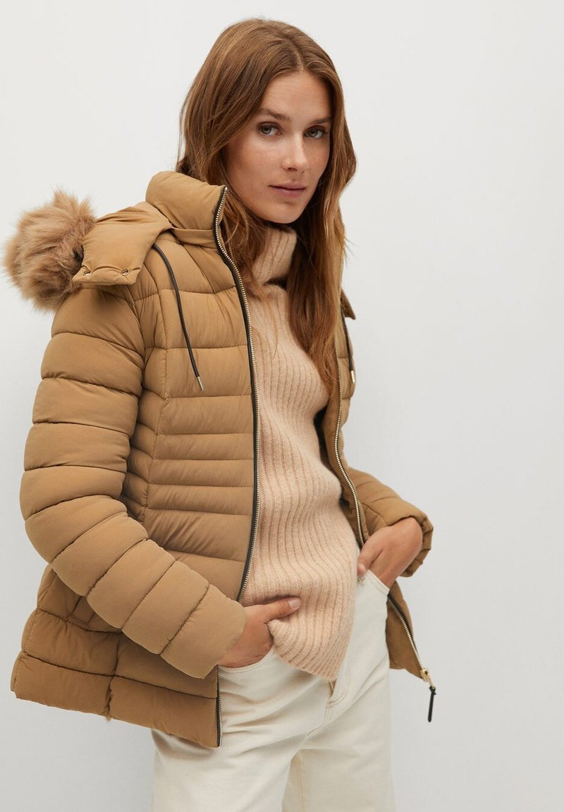 Mango - PONI - Winter jacket - mittelbraun